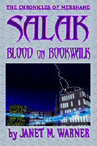 Blood On Bookwalk cover